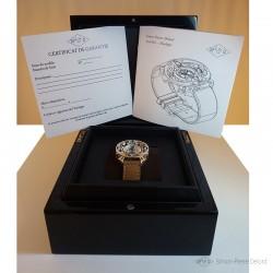 """""""L'Alchimiste"""", Boîte de la Montre de Haute Joaillerie. Boîte de montre Luxe laquée noire fabriquée en Suisse"""