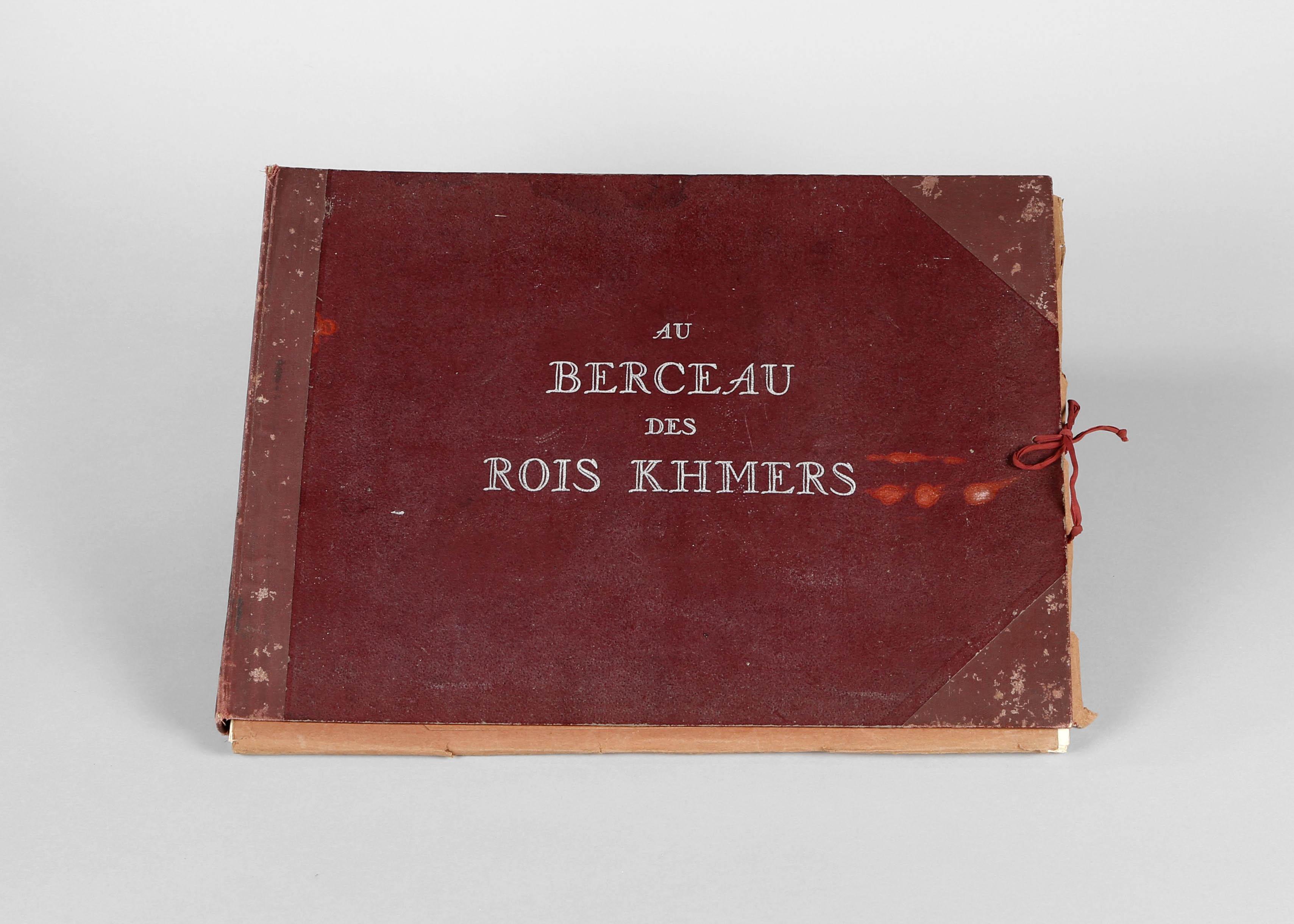 """Book """"Au Berceau Des Rois Khmers"""" by Jean Bouchot"""