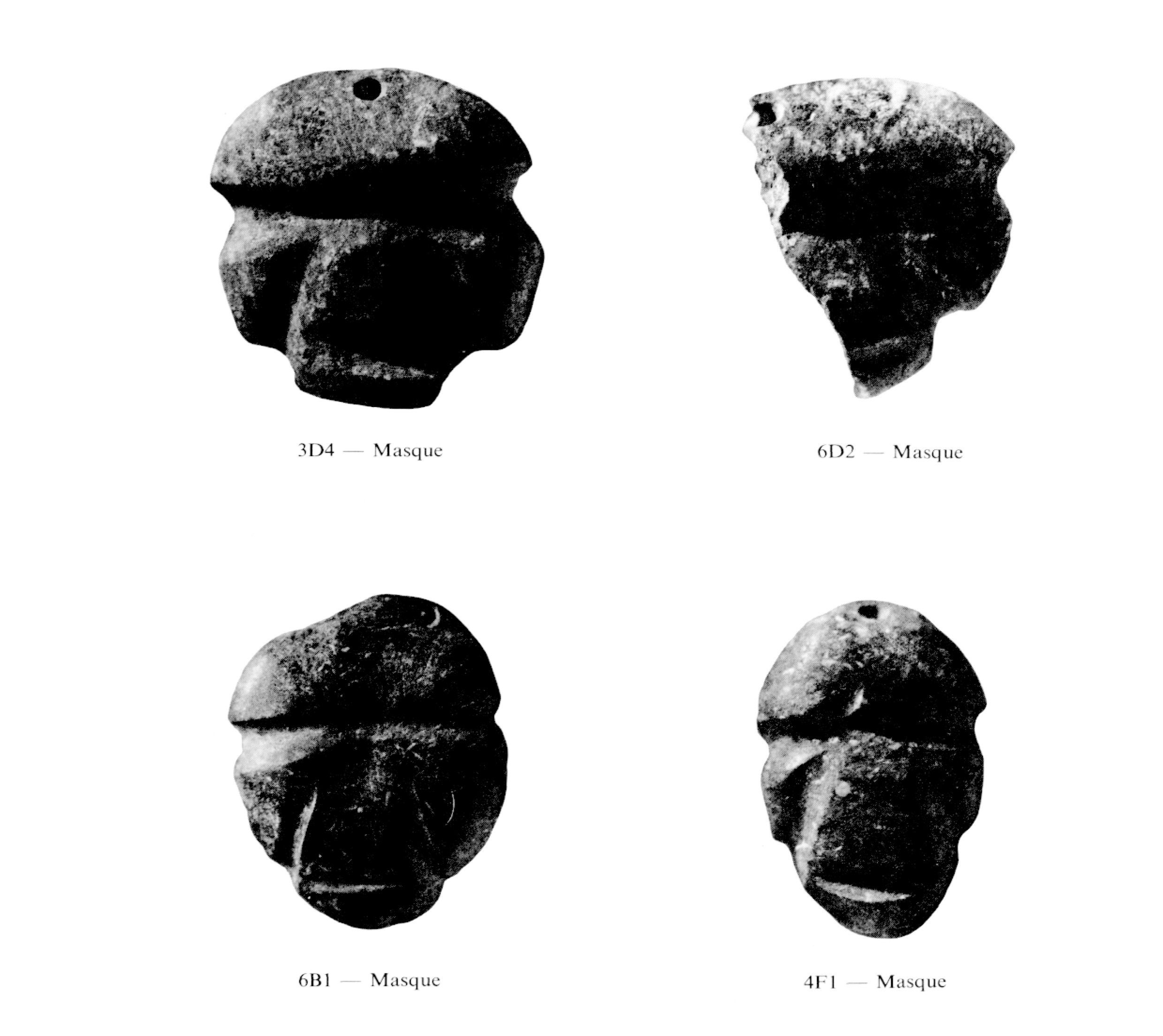 Discovery of Mezcala Masks at the archaeological site of Ahuinahuac