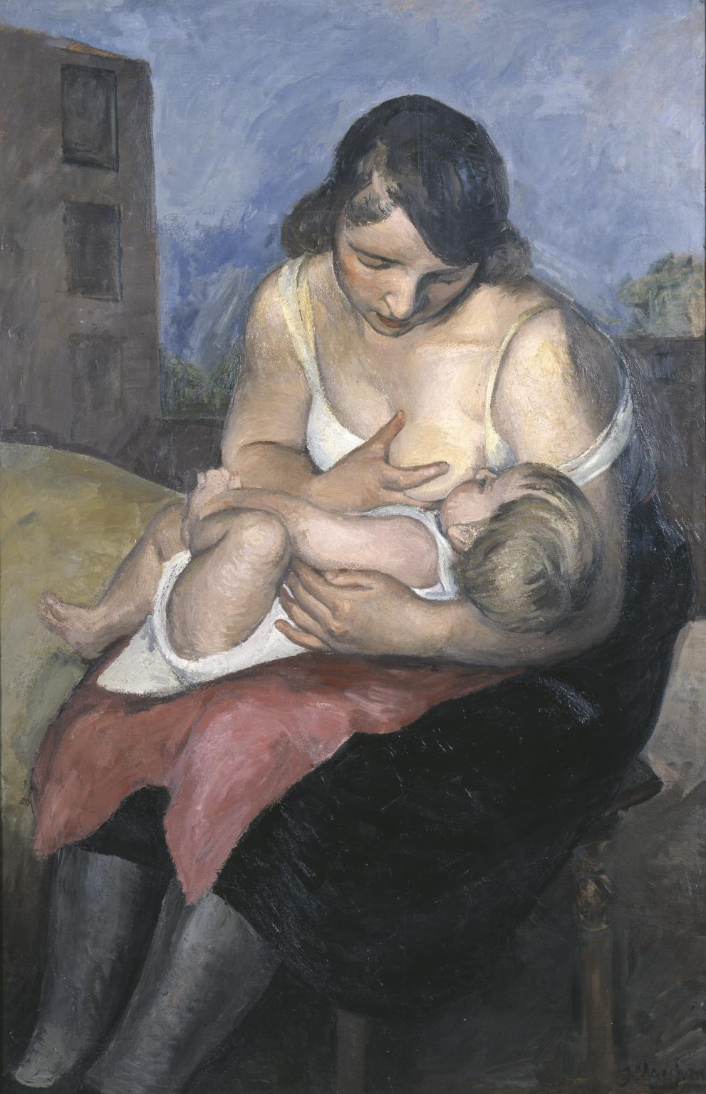 Jean Hippolyte Marchand |1883-1940 | Maternity | 1921, Tate Museum