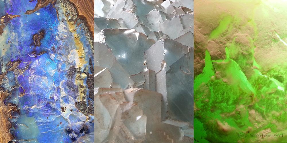 lithothèque : Choix des pierres pour la Glyptique