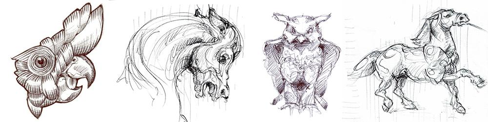 Artisan d'Art | Dessin et Gouaché d'animaux pour l'horlogerie et  la joaillerie